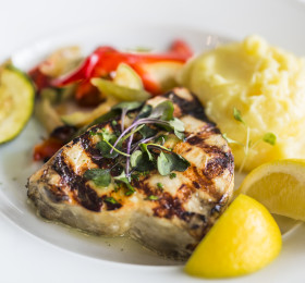 Broiled Swordfish